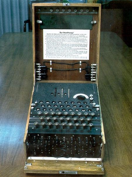 德国的恩尼格玛密码机Enigma